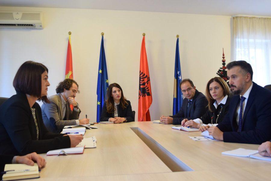 Vizitë pune e Ministrit Pejoviq në Sekretariatin e Përbashkët Teknik 06.12.2017