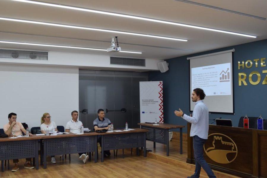 Trajnimi mbi publicitetin dhe dukshmërinë për shfrytëzuesit e granteve nga Thirrja e parë, Shkodër 4 Korrik 2018