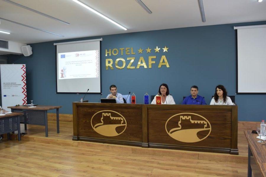 Trajnimi mbi raportimin për shfrytëzuesit e granteve të Thirrjes së parë, Shkodër 4 Korrik 2018
