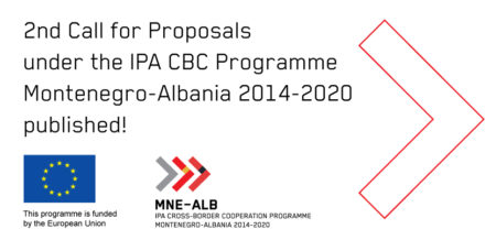 The 2nd Call for Proposals for the IPA Cross-border Programme Montenegro-Albania 2014-2020 published