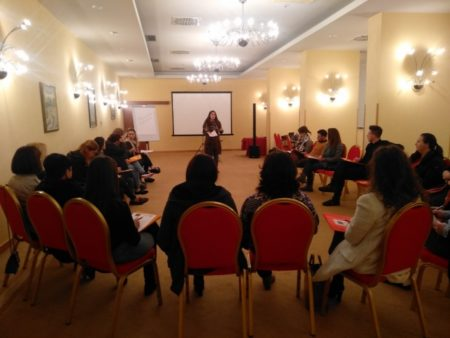 "The first modular training within the project ""Child friendly tourism in the cross-border region"""